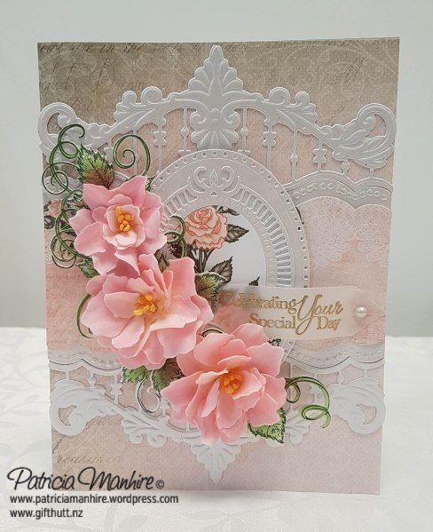Heartfeltcreations Classicrose Classicwedding Foamiran Heartfelt Creations Cards Heartfelt Creations Heartfelt Cards