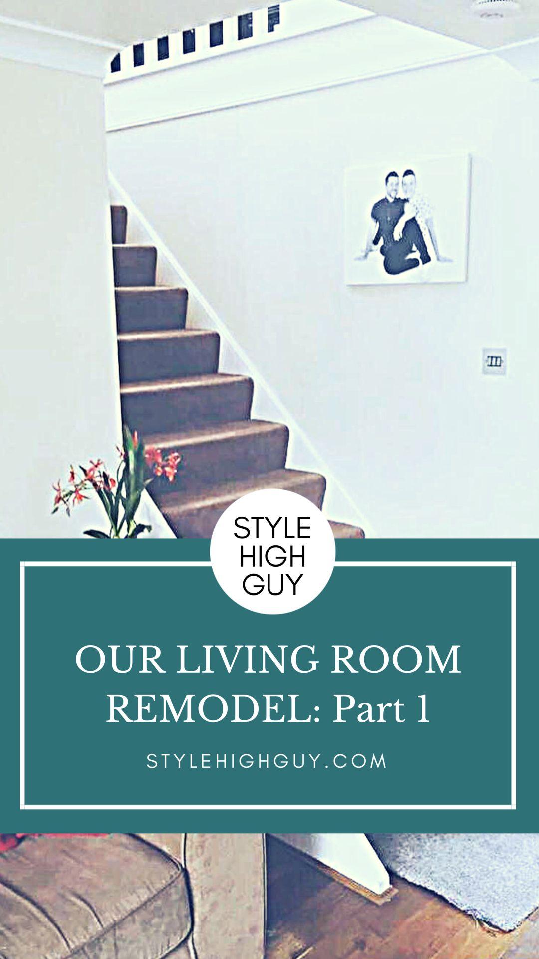 Living Room Remodel Renovation | Diy renovation, Home diy ...