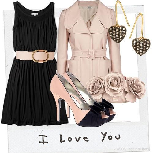 this is a very cute outfit, I would wear this for a date or a get together with my friends :) GIRLS NIGHT OUT!