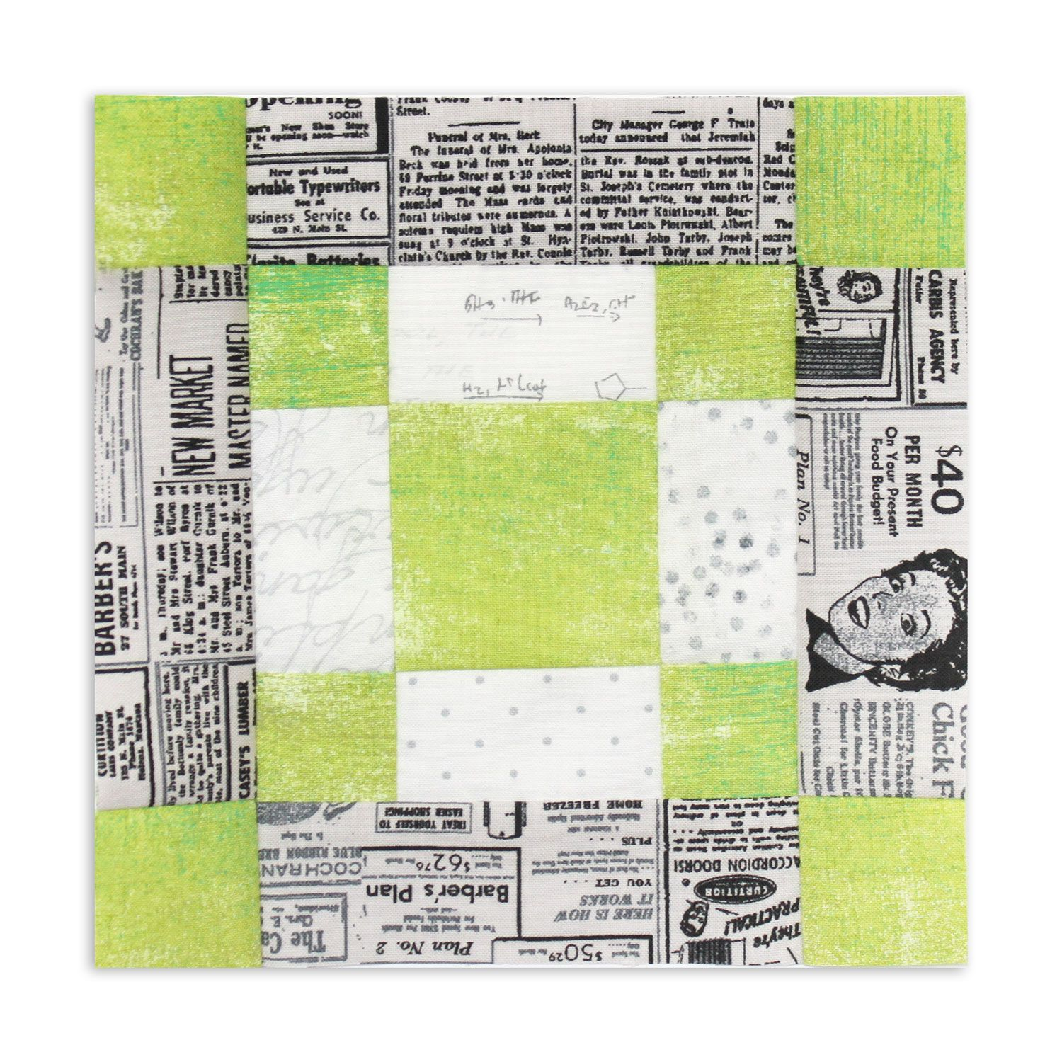 Quilt Along Blockheads 2018  Block 3 And A Free