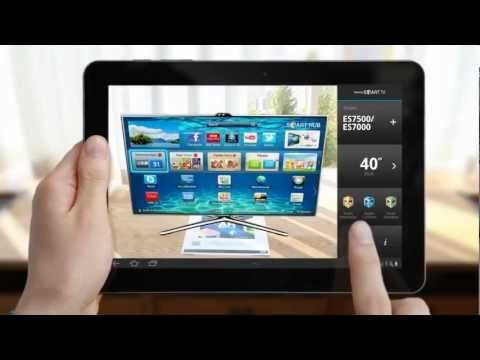 Samsung Smart TV Augmented Reality Simulator App