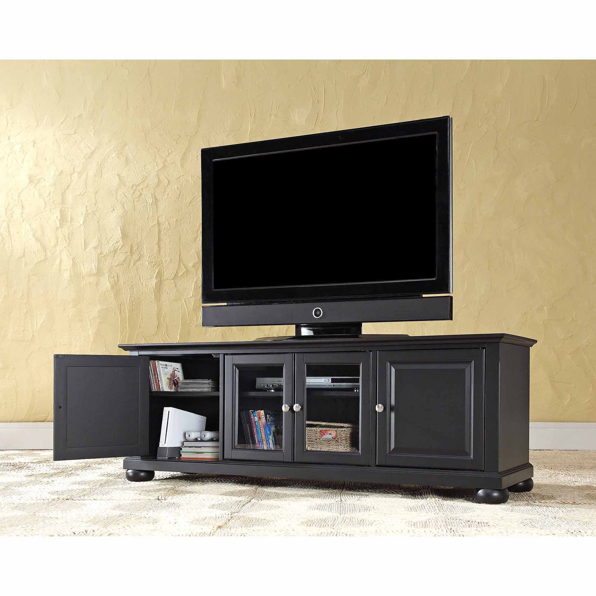 Crosley Furniture Alexandria Low Profile TV Stand for TVs up to 60