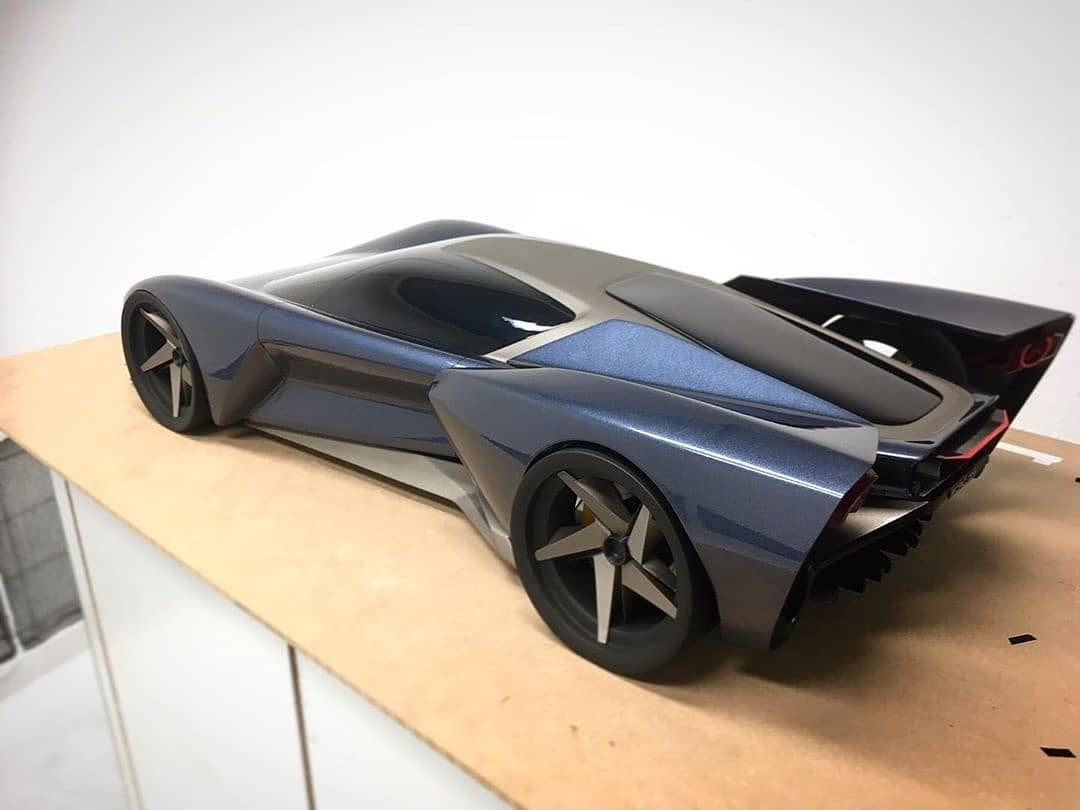 Ford Gt Model Side View In 2020 Ford Gt Ford Future Car