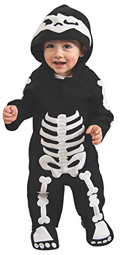Rubie's Disfraz de Esqueleto infantil, talla bebé 612