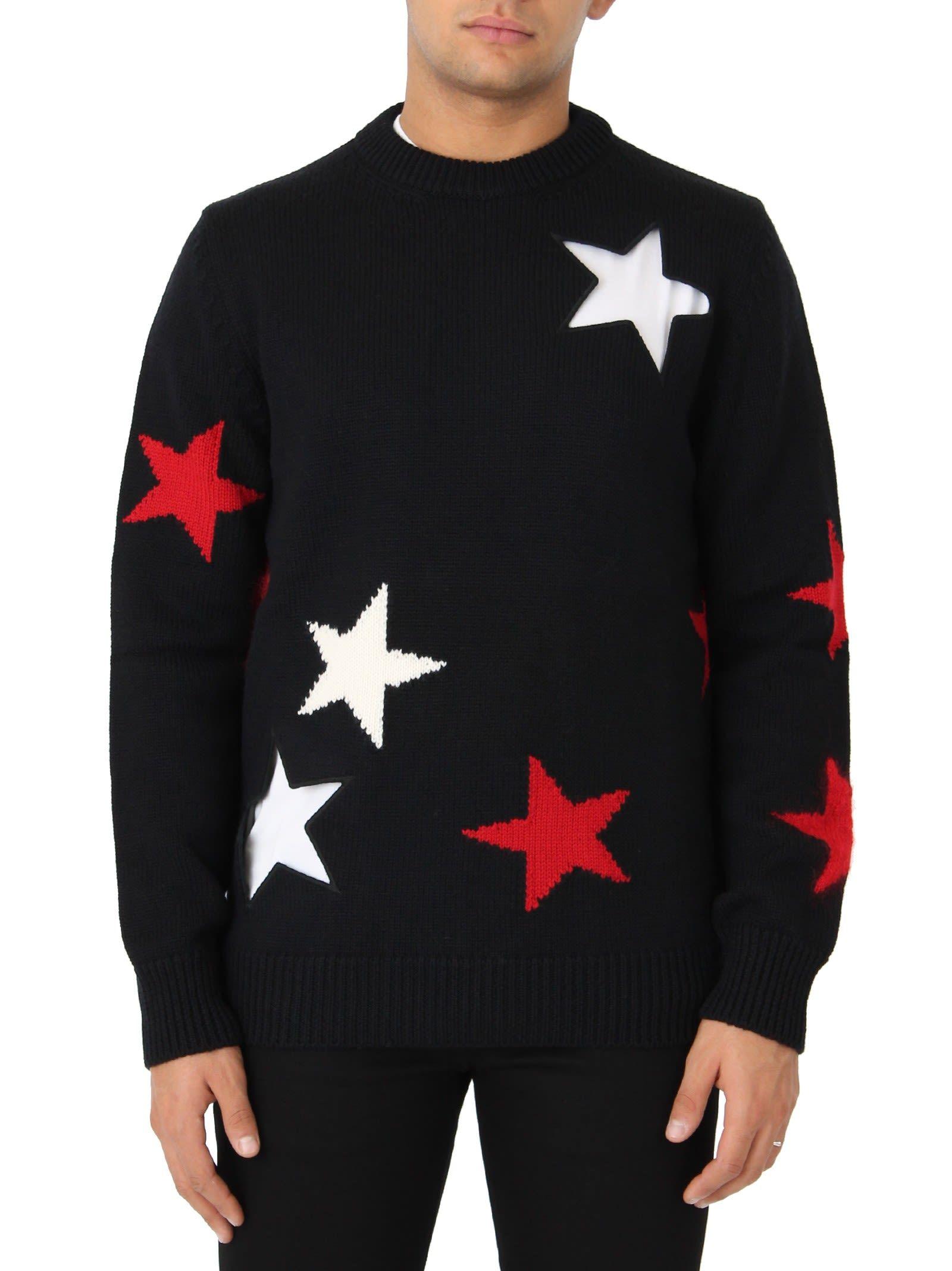 2c48702a1fb79 GIVENCHY BLACK STAR CREWNECK.  givenchy  cloth