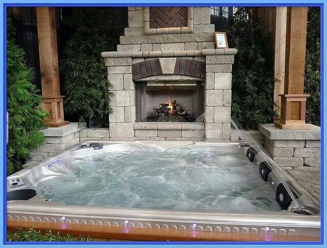 Kick back and relax year round | Backyard pools | Haus, Garten, Haus ...