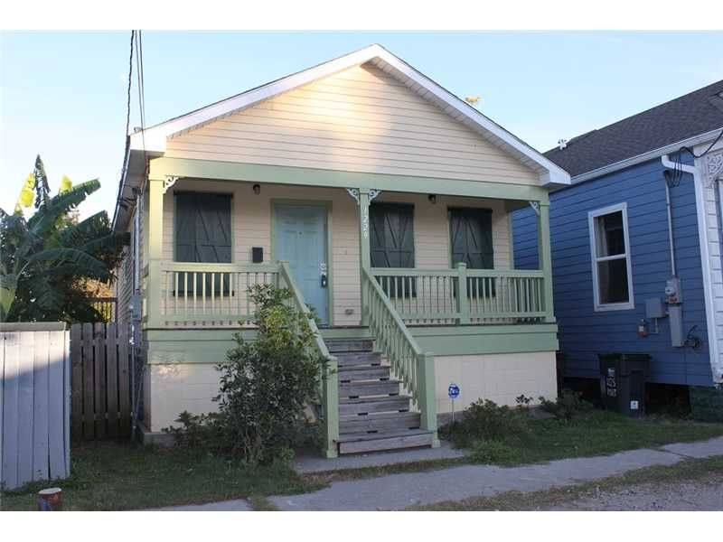 Adorable Raised New Orleans 3br Cottage In Desirable New Marigny