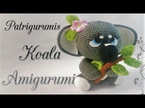 Amigurumi Koala Crochet Youtube Amigorumi Pinterest