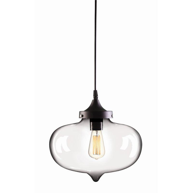 Brilliant 27cm Clear Laurent Pendant Light From Bunnings Pendant Light Stairway Lighting Ceiling Pendant