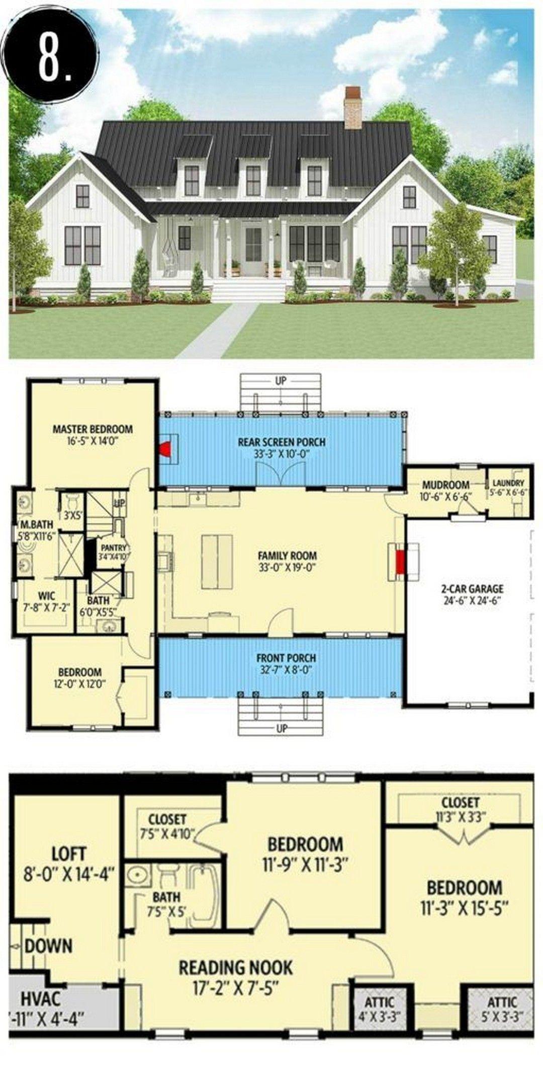 47 Best Modern Farmhouse Floor Plans That Won People Choice Farmhouse Room Modern Farmhouse Plans Modern Farmhouse Floorplan Farmhouse Floor Plans