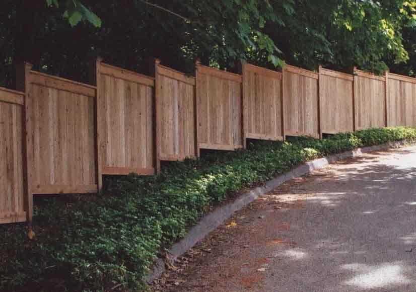 Horizontal Wood Fence Panels Google Search Fences