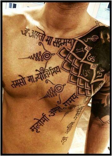 Obras e ideas diversas de tatuajes hindu para hombres Pinterest