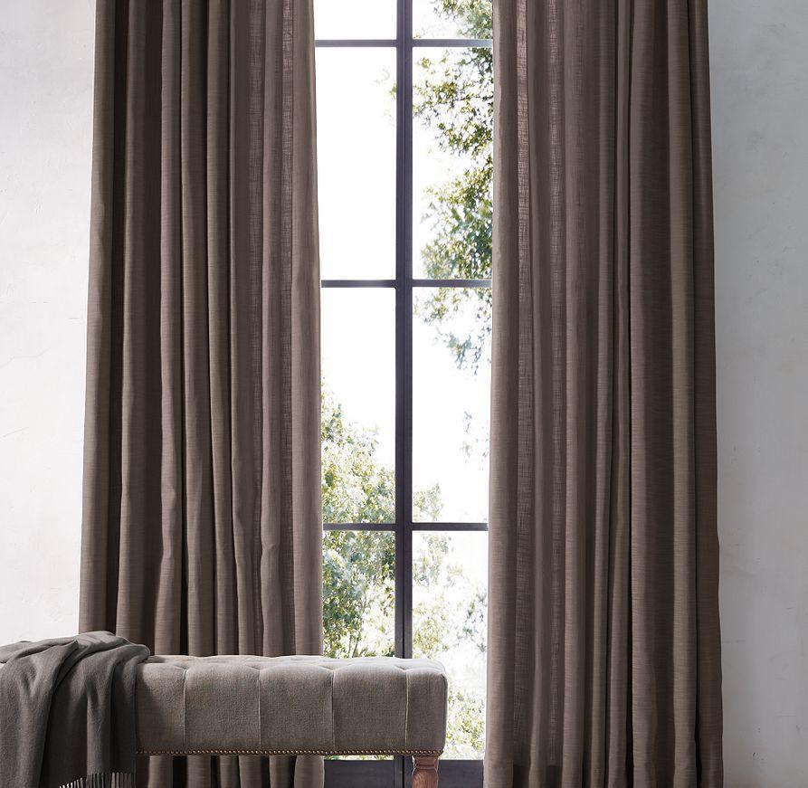 Perennials® Textured Linen Weave Drapery