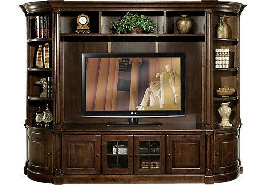 Shop For A Newfield 5 Pc Wall Unit At Rooms To Go Find Wall Units That Will Look Great In Your H Wall Unit At Home Furniture Store White Furniture Living Room