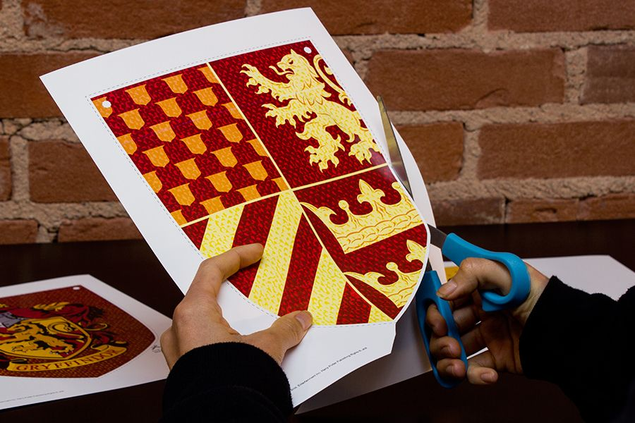 DIY: House Banners | Ravenclaw, Free printable and Banners