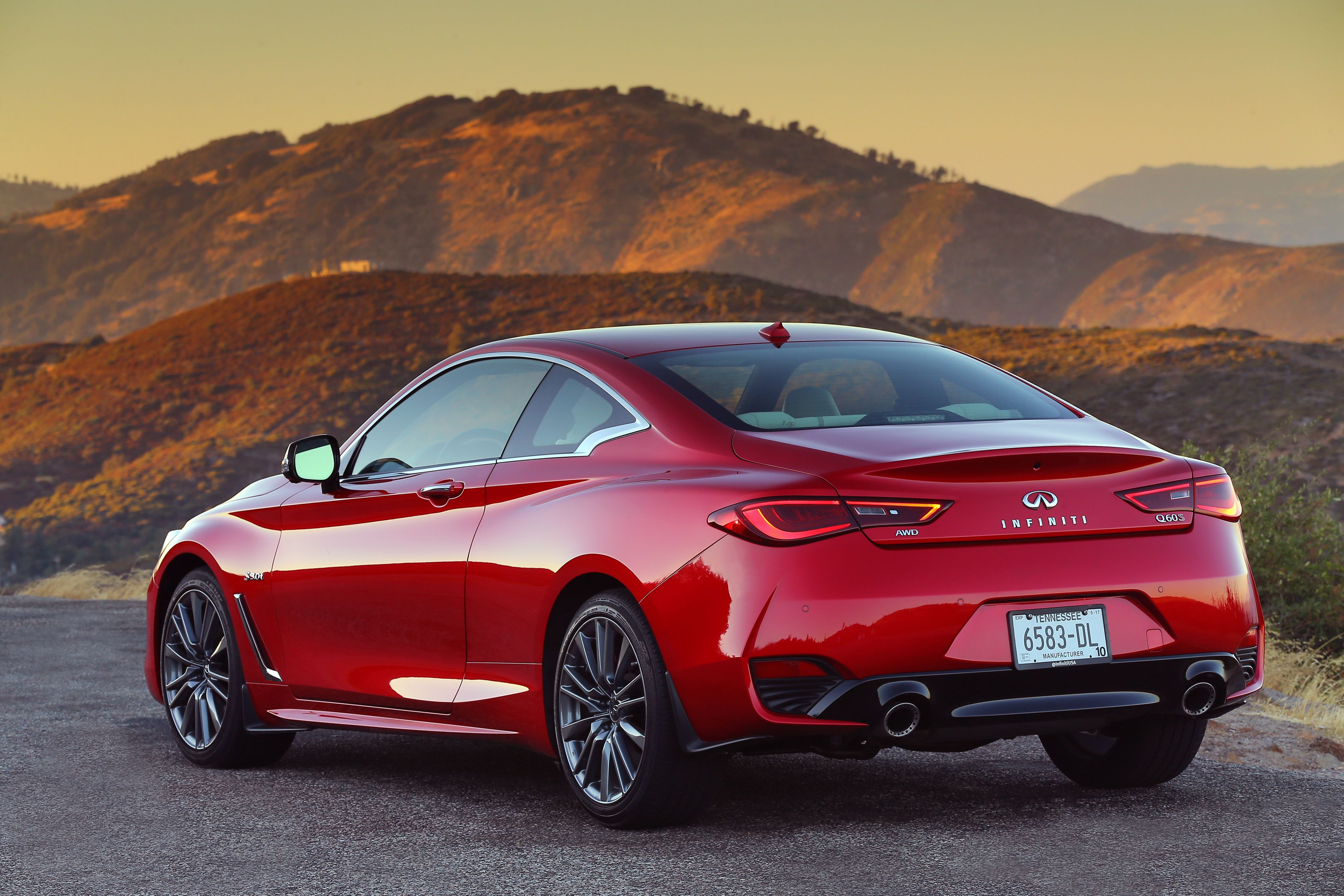 2017 Infiniti Q60 Red Sport 400 AWD (With Images)