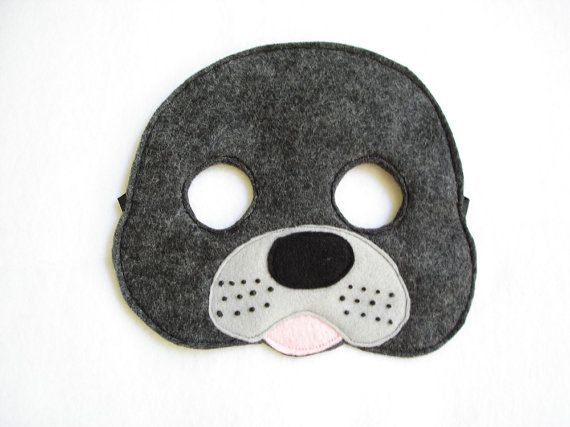 Children S Seal Felt Mask What Does The Fox Say By