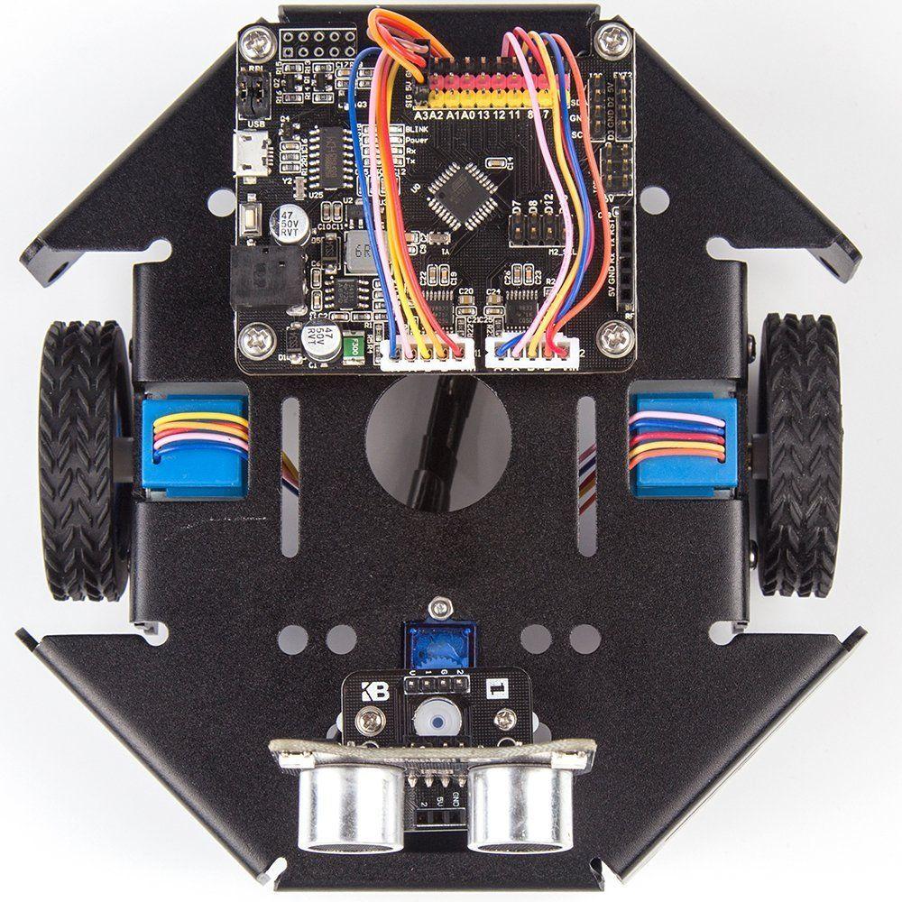 KittenBot Basic Robot kit DIY Robot STEM Toy Scratch 3 0 and