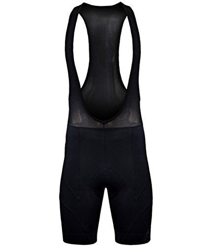 Funkier Bike New 17 Panel Cycling GEL Bib Shorts in Black