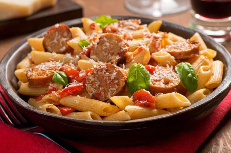 Receta De Macarrones Con Verduras Y Chorizo Receta Macarrones Macarrones Con Verduras Recetas De Pastas
