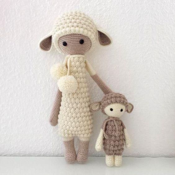 Amigurumi Lalylala Mini Lupo-Free Pattern (Amigurumi Free Patterns) Toys, 8...