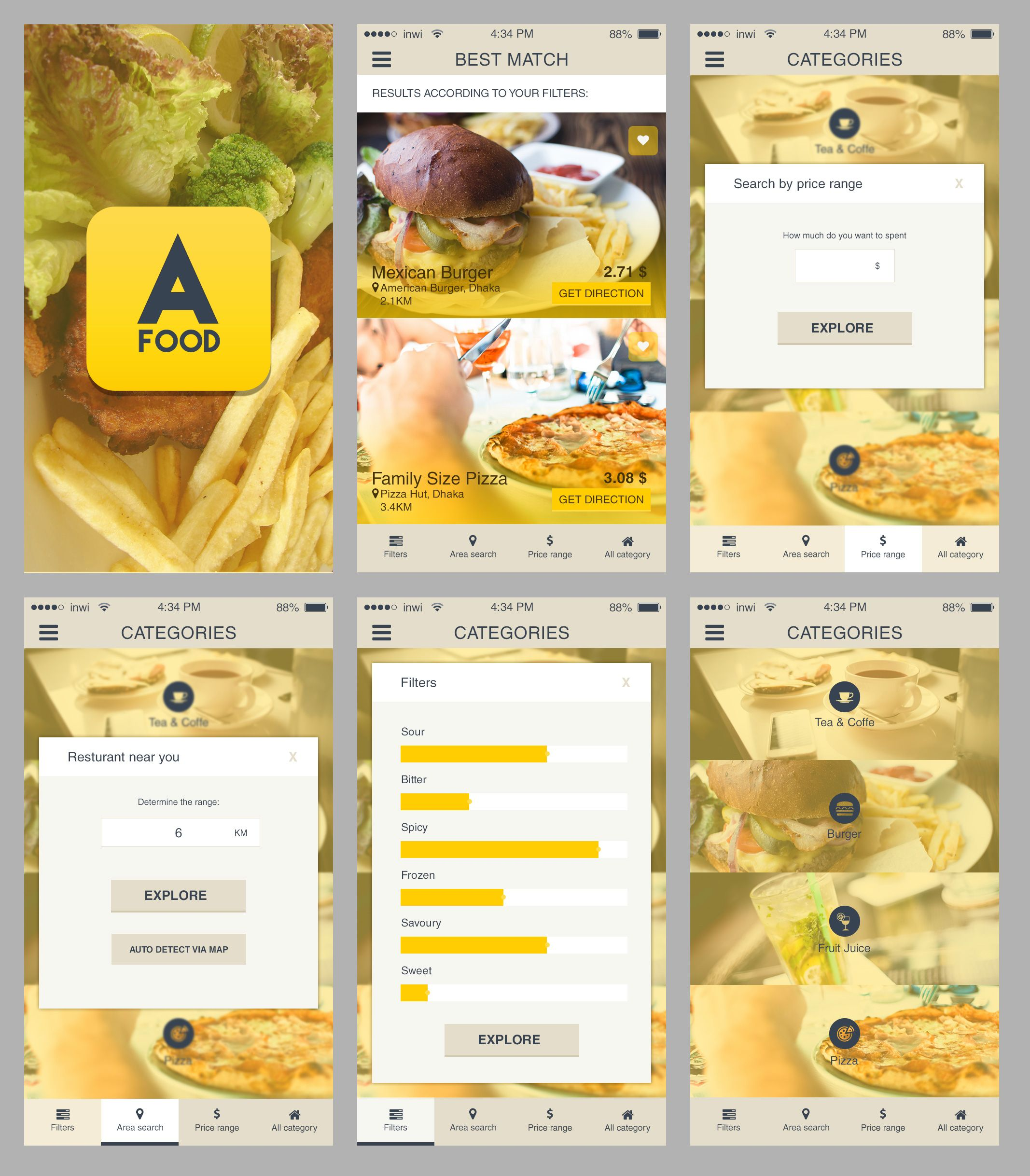 Free ios restaurant finder app freepsd psd appdesigns more psd free ios restaurant finder app freepsd psd appdesigns more psd forumfinder Image collections