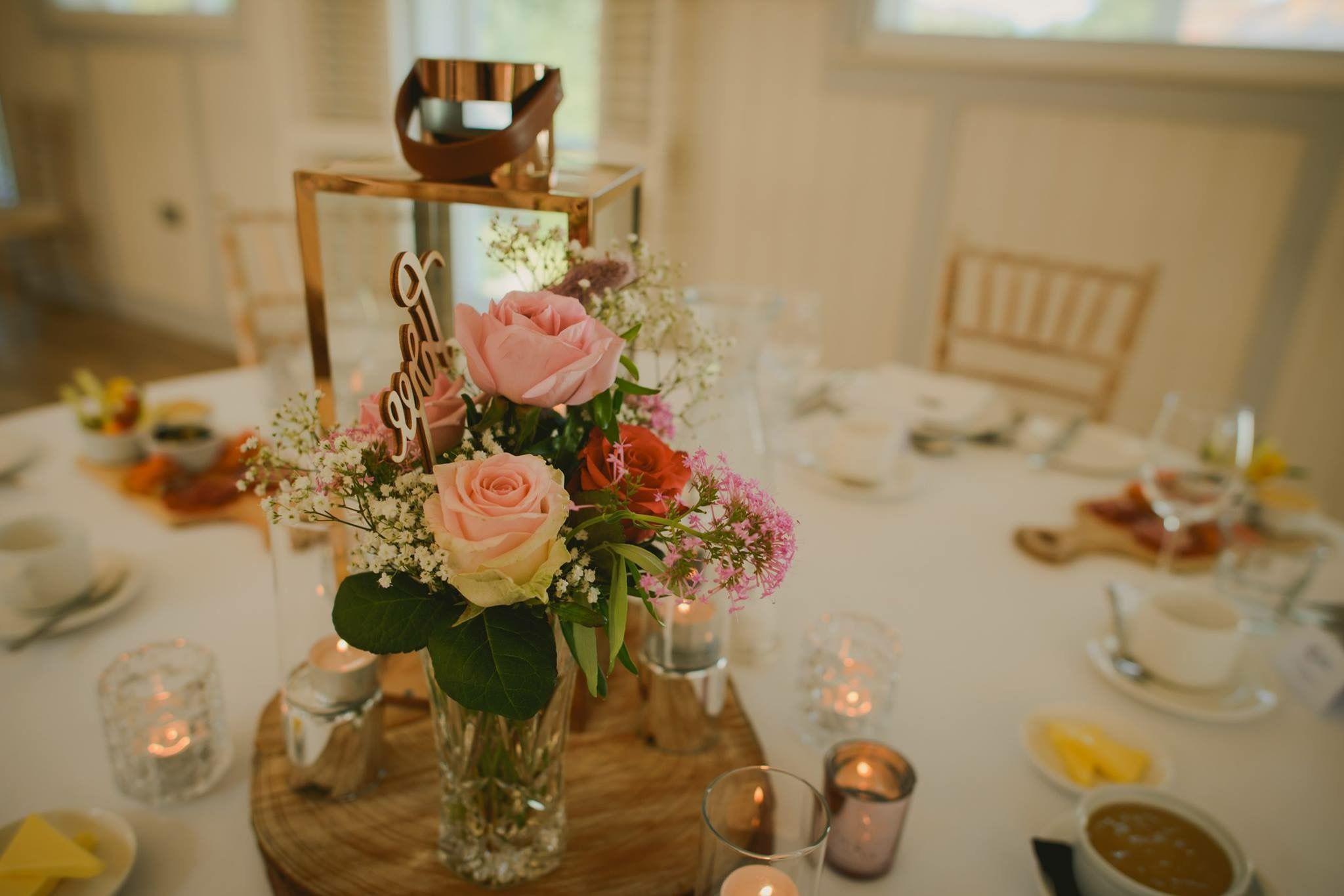 Rose Gold Wedding Inspiration Wedding reception table