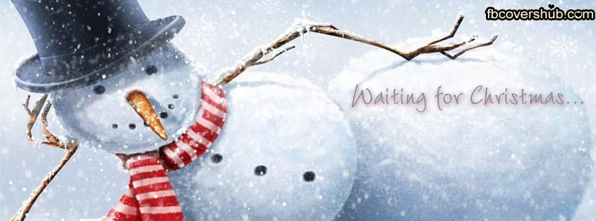 Waiting For Christmas Fb Cover Facebook Timeline Cover Fb Cover