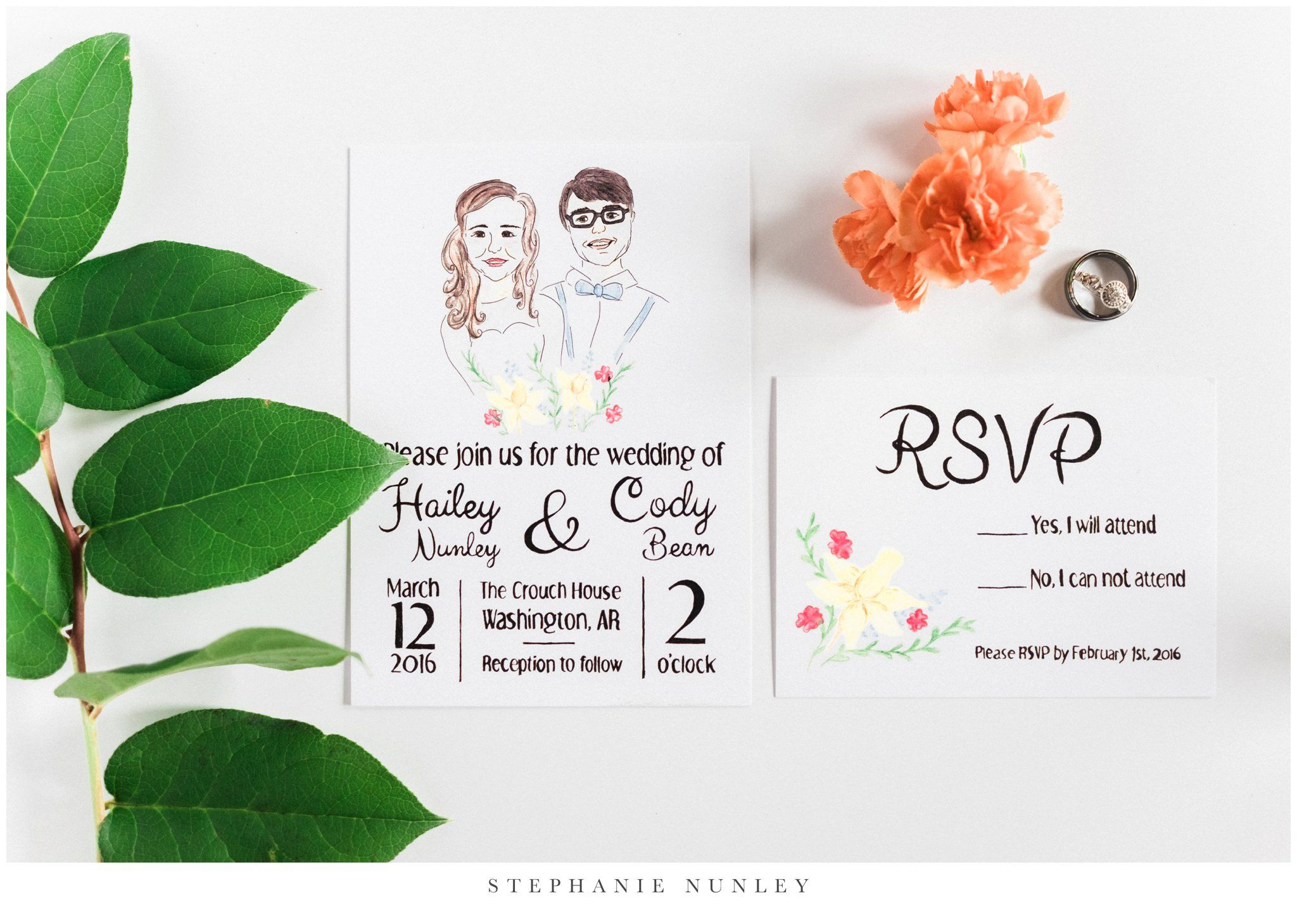 An Arkansas Historic Home Wedding | Quirky wedding invitations ...