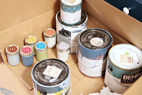 125 Organizing Paint A Silhouette Promo A Giveaway With Images Paint Organization Leftover Paint Storage