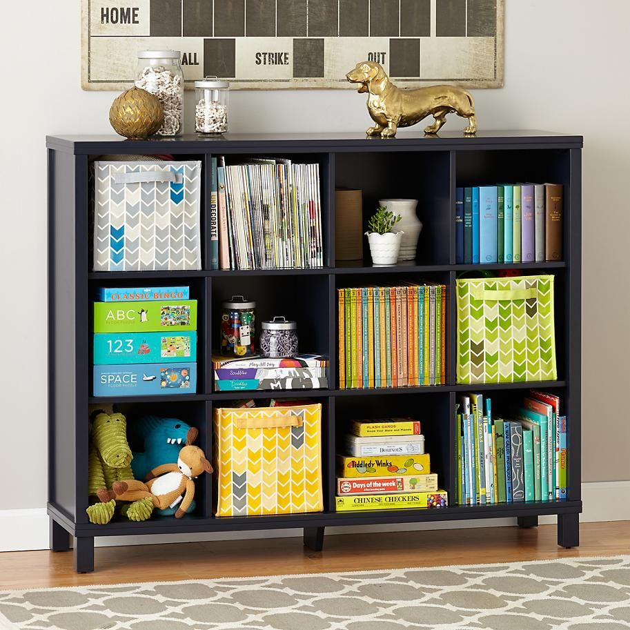 Cubic Bookcase Midnight Blue 12 Cube Bookcase Cube Bookcase