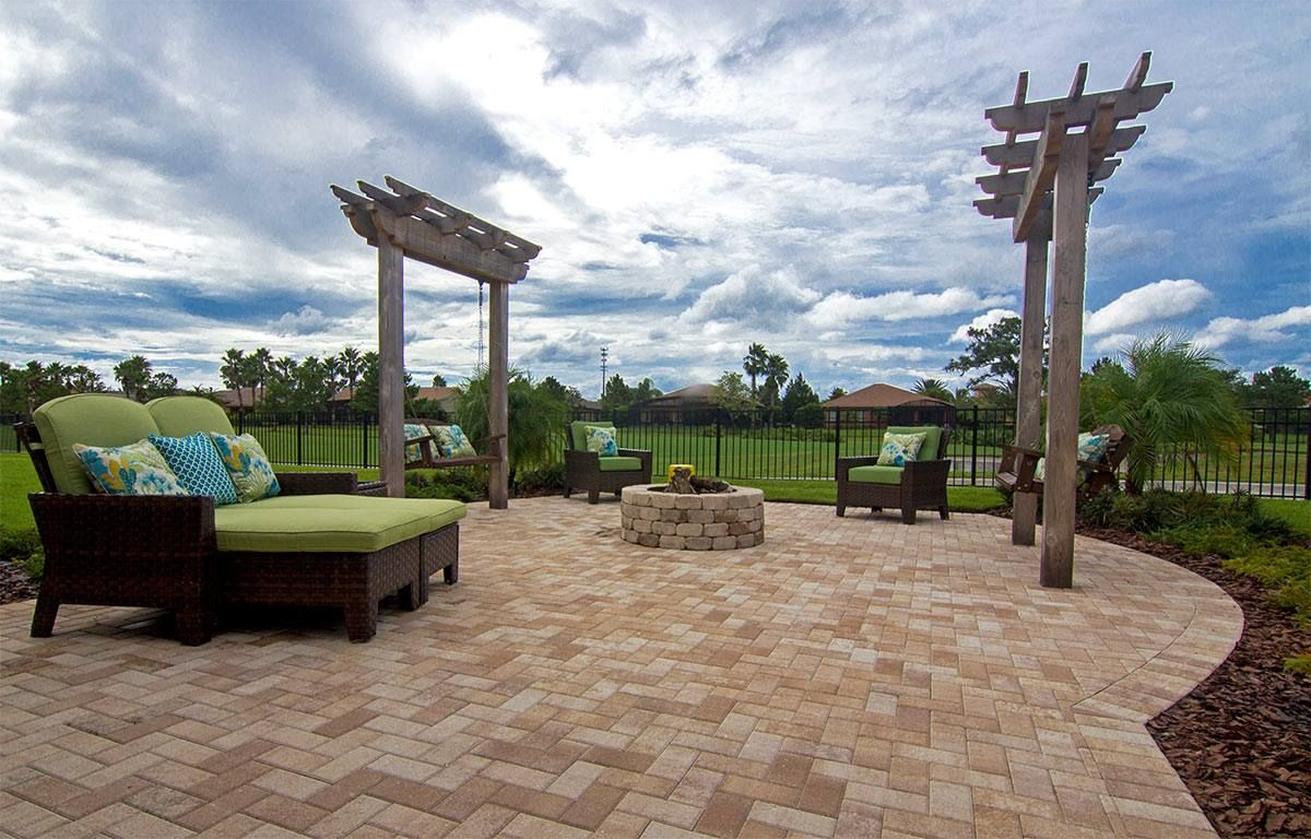 Create Your Own Custom Backyard Getaway With Hardscape Products From  Tremron Unique Outdoor Creations Pinterest Backyard