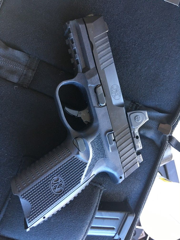 Fn 509 with milled rmr hand guns guns wishlist