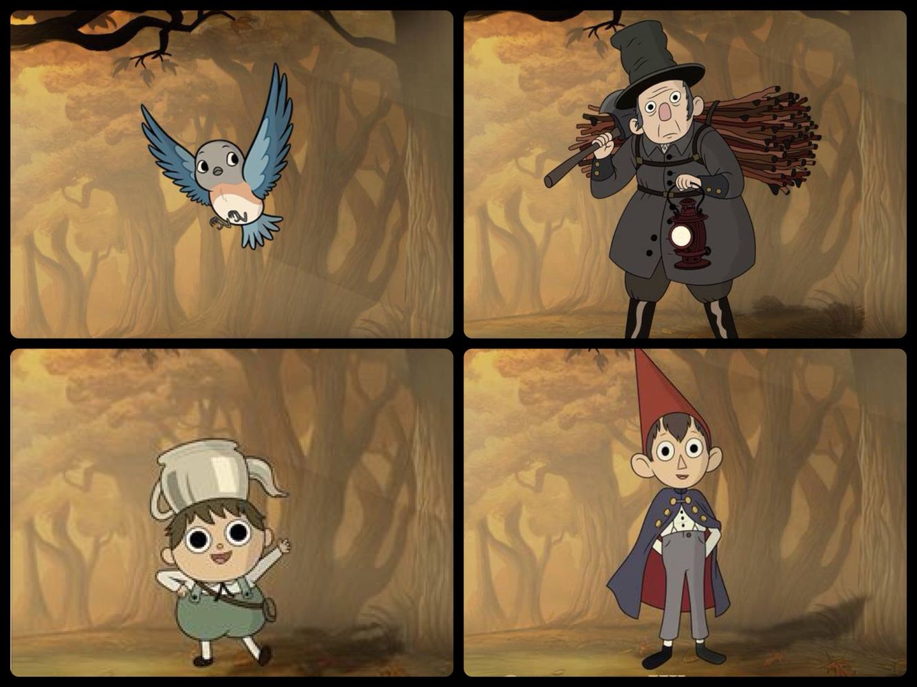 Beatrice, The Woodsman, Greg, and Wirt