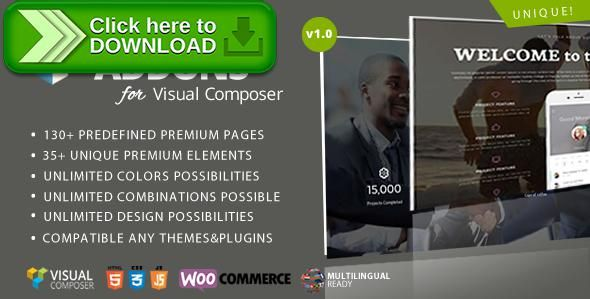 Free nulled Master Addons for Visual Composer download | Extension ...