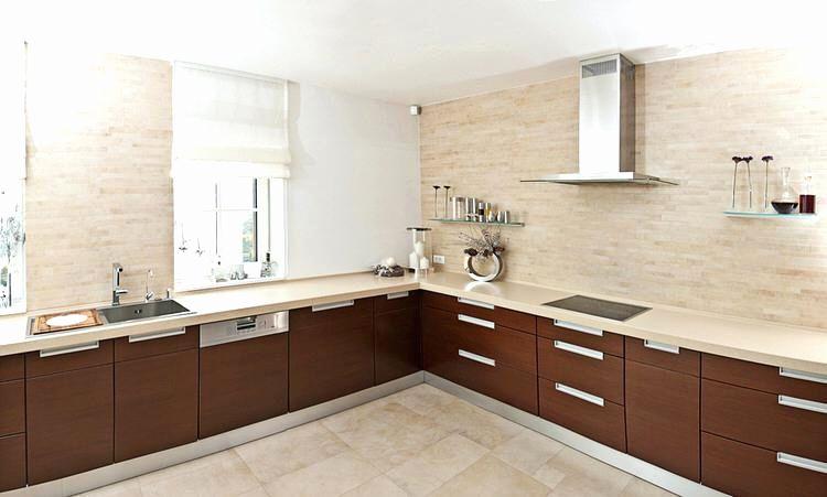 Image Result For L Shape Kitchen Without Upper Cabinets Kitchens Without Upper Cabinets Contemporary Kitchen Modern Kitchen Interiors