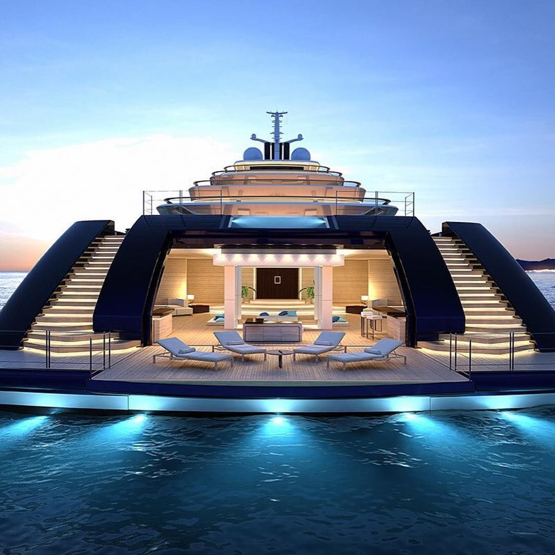 Epic Luxury Life Su Instagram Beautiful Super Yacht By