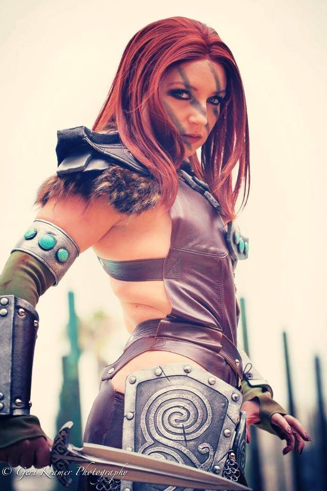 character aela the huntress from bethesda softworks