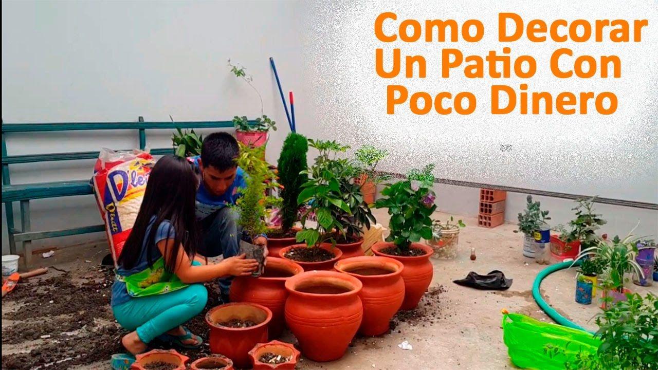 Pin de decorando con diversion en videos de ideas para for Decorar un jardin con poco dinero