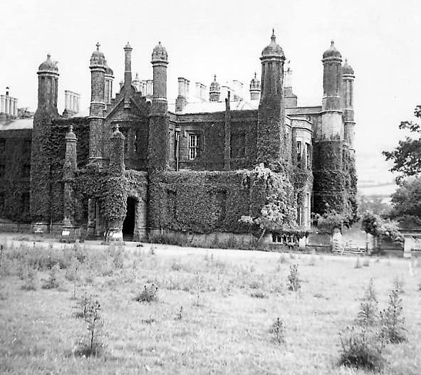 Image Detail For -Glanusk: The Old Mansion In 1951:: OS