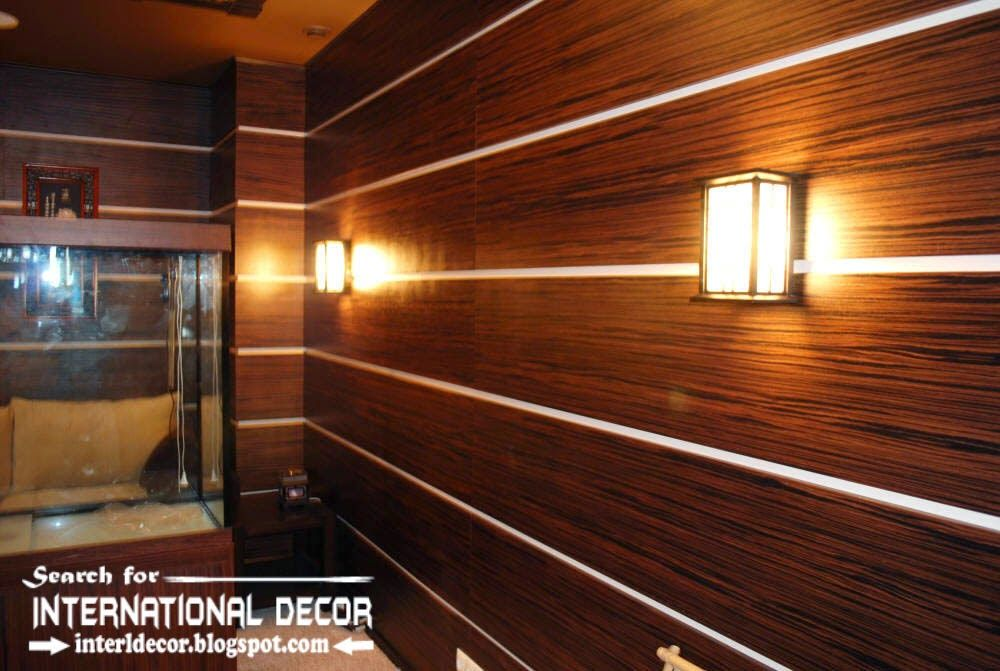 Decorative Wood Wall Panels With Led Lights Mdf Wall Panels Designs Wood Panel Walls Wall Paneling Wooden Panelling