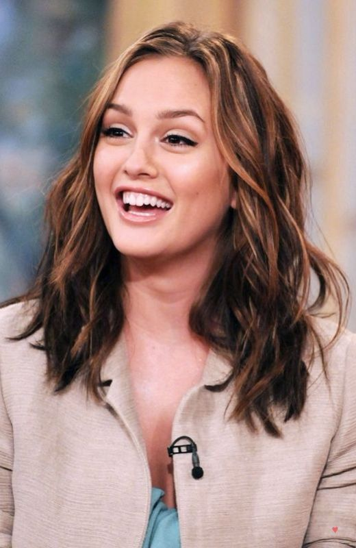 Leighton Meester Leighton Meester Hair Hair Color Light Brown Hair Inspiration Color