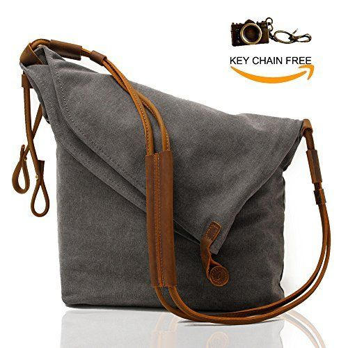 150e9a8935 New Trending Cross Body Bags  Crossbody Satchel Bags for Women Waxed Canvas  Hobo Tote Handbags