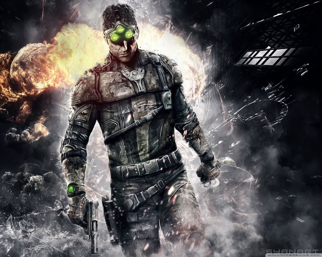 Splinter Cell Blacklist Wallpaper Games Pinterest