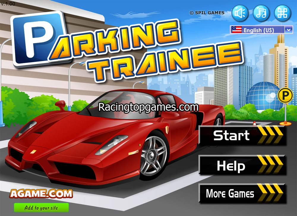 Play Online Parking Trainee Car Game Free At