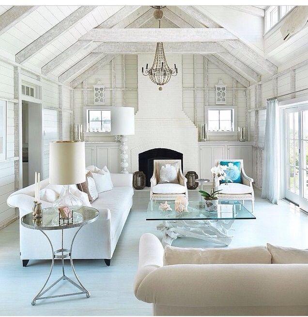 White Living Room Monteagle  Interiors & Exteriors Too Pleasing White Living Room Interior Design Review