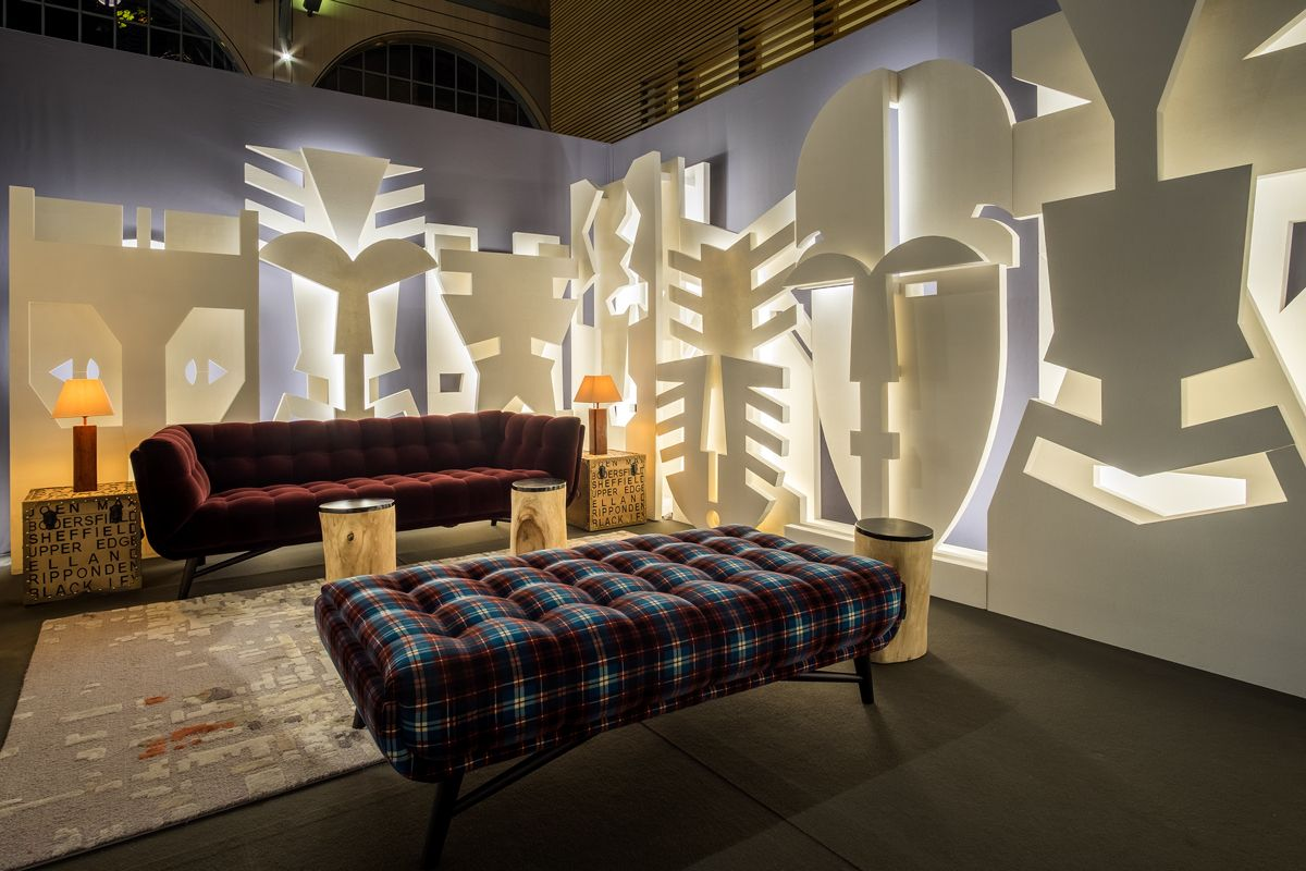 Roche Bobois Paris 2016 Kwerk Vip Lounge On Akaa Contemporary Art Fair Albert Angel Rochebobois Design Salon