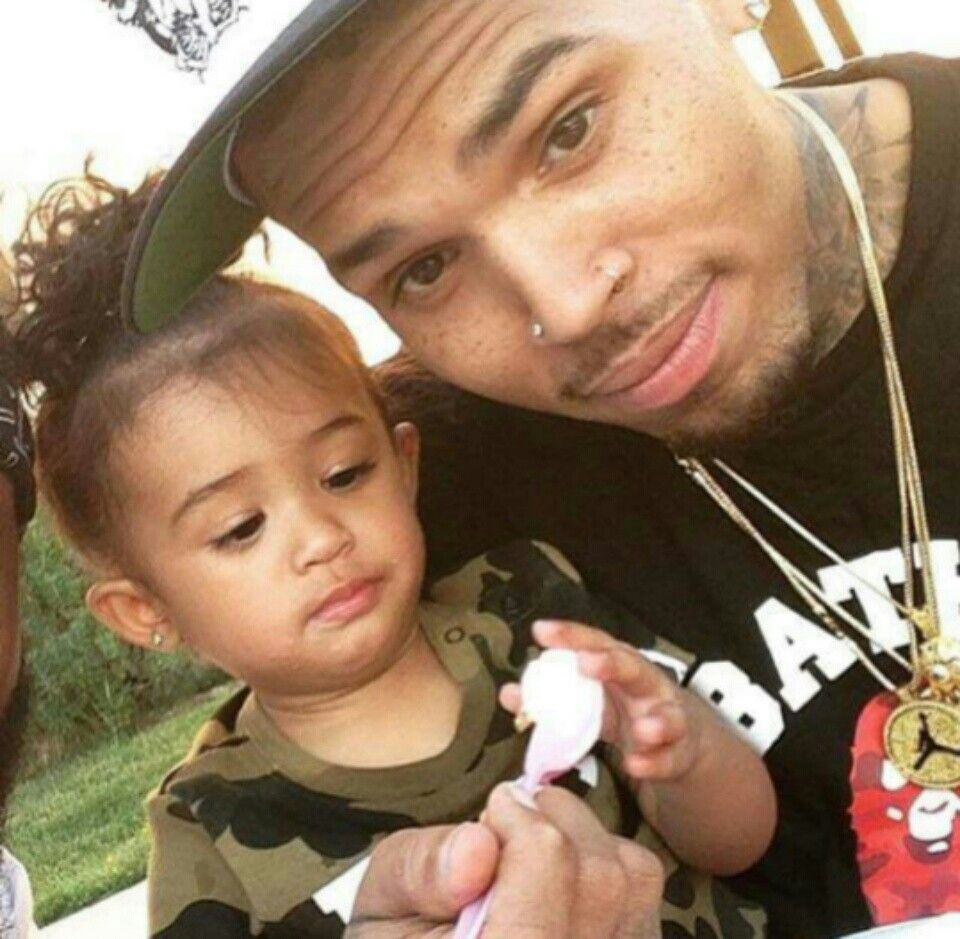 chris brown daughter - 960×939