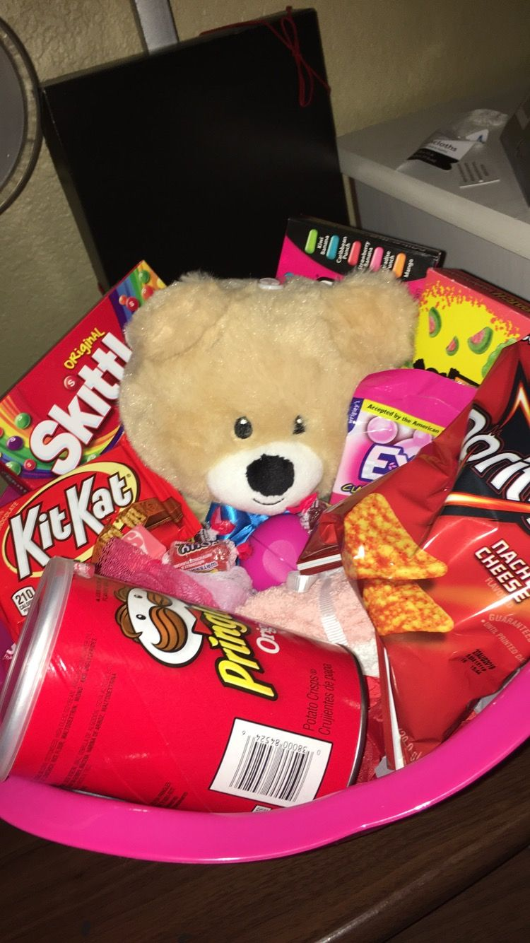 Best Friend's 13th Birthday Gift #boyfriendgiftbasket