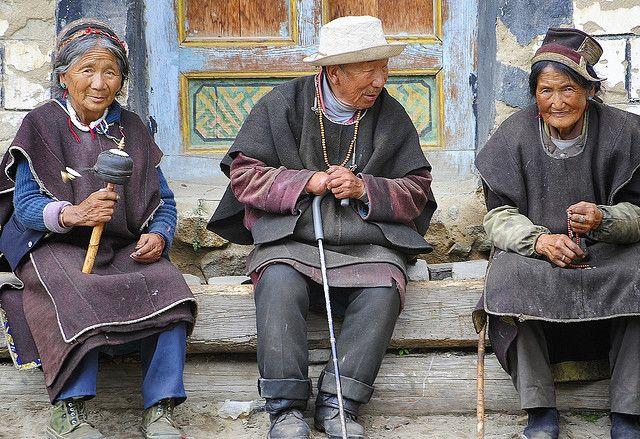 Residents of Buchu Sergyi Lhakang,Tibet | by reurinkjan